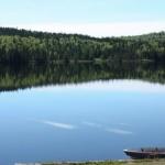 Lac Canoe à la pourvoirie Rudy