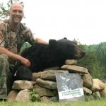 Chasse à l'ours noir à la pourvoirie Rudy