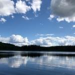 Lac Bleuet à la pourvoirie Rudy