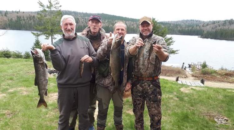 Pêche à la truite à la pourvoirie Rudy