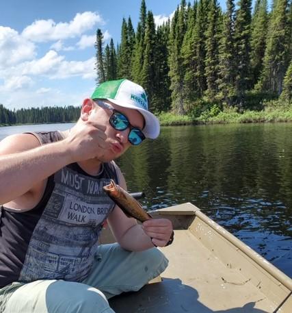Sortie de pêche au Rudy