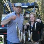Pêche truite à la pourvoirie Rudy