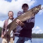 pêche brochet pourvoirie Rudy hautes-laurentides
