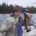 pêche truite pourvoirie Rudy Hautes Laurentides Quebec