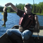 Pêche au doré à la pourvoirie Rudy