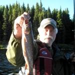 Pêche à la truite au Rudy
