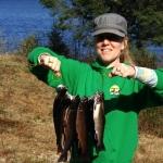 Voyage de pêche à la truite. Pourvoirie Rudy. Hautes-Laurentides, Québec