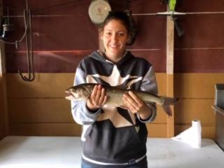 Pêche sur le lac Canot