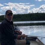 Peche sur le Lac Bleuets
