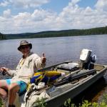 Peche a la truite sur le lac Boswell