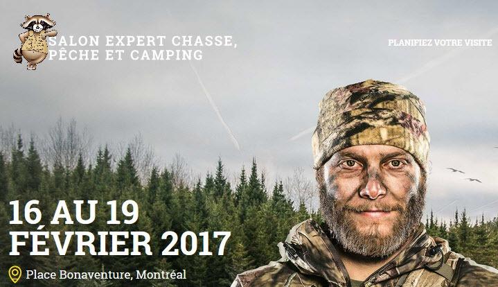Salon Expert Chasse Peche Camping a la place bonaventure
