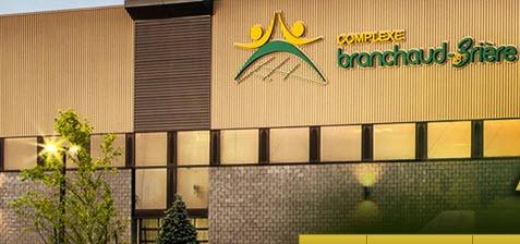 Facade du complexe Branchaud-Briere hôte du Salon Gatineau