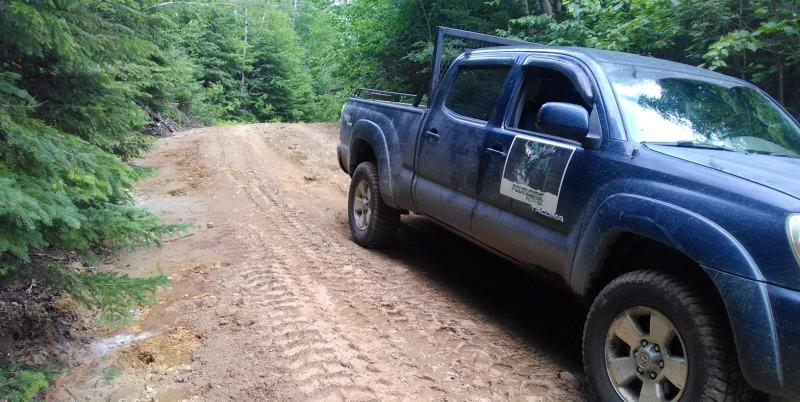 pourvoirie rudy camion
