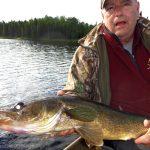 Pêche au doré sur le lac Bleuet