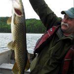 Pêche au brochet à la pourvoirie Rudy