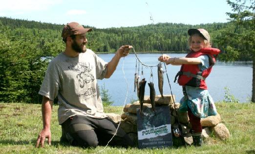 pêche duo père-fille au rudy