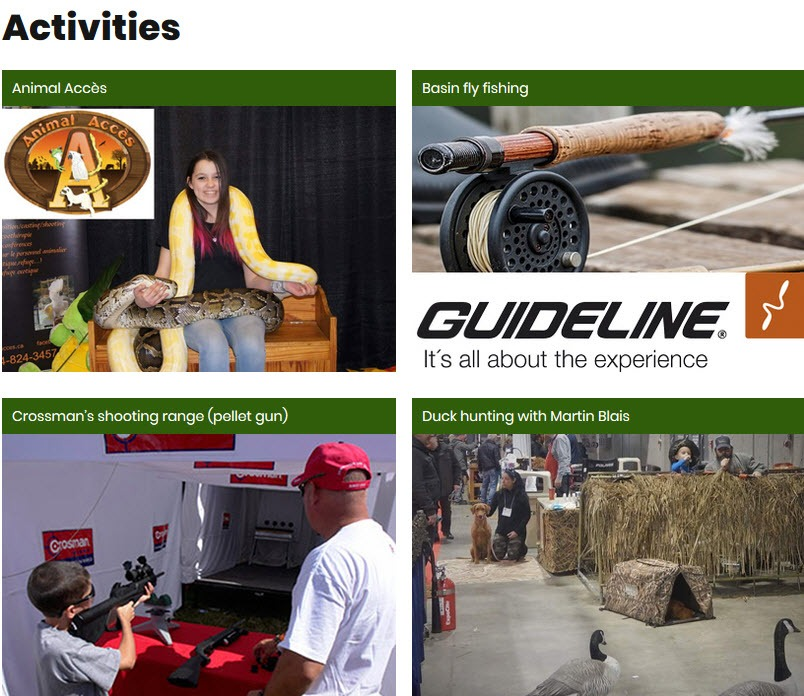 National Outfitter Show of Laval