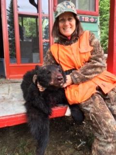 Chasse à l'ours au Rudy avec Julie