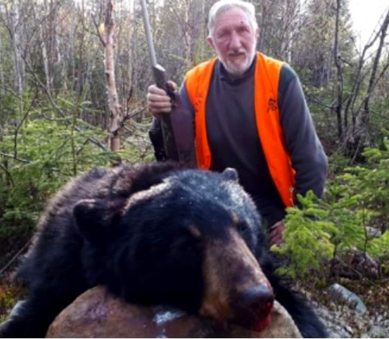 chasse à ;'ours pourvoirie Rudy