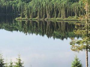 peche truite lac pourvoirie rudy