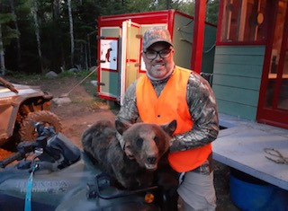 chasse ours laurentides rudy