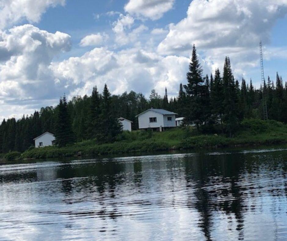 Chalet Lac Bleuets au Rudy